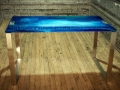 new blue console